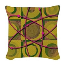 Big Bang Design Woven Throw Pillow