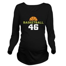 Custom Basketball Player 46 Long Sleeve Maternity