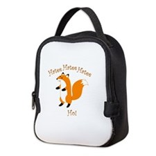 HateeHoFox Neoprene Lunch Bag