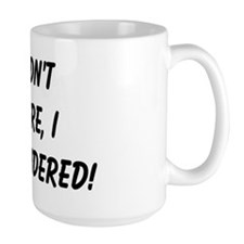 retirement surrendered Mug