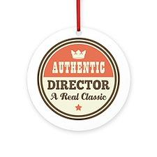 Authentic Music Director Ornament (Round)