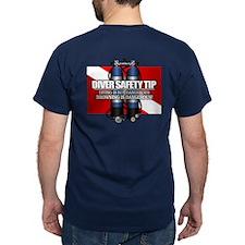 Diver Safety Tip T-Shirt