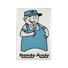 Handy Andy Rectangle Magnet