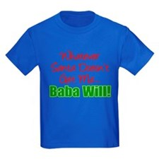 Santa Baba Will T-Shirt