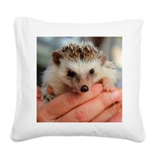 GEE Funny Farm unprickly hedg Square Canvas Pillow