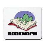 Bookworm Book Lovers Mousepad