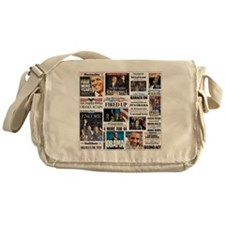 Pro Obama Victory Collage Messenger Bag