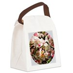 What spring does to cherry trees Canvas Lunch Bag
