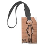 Standing guy Large Luggage Tag