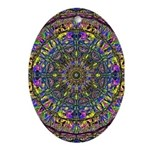 Mandala Oval Ornament