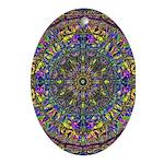 Mandala Oval Ornament