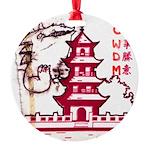 Go-zirra Round Ornament
