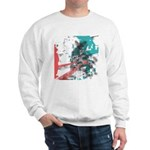 Crazy by Voln Sweatshirt