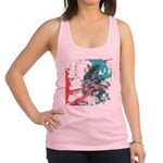 Crazy by Voln Racerback Tank Top