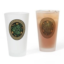 Celtic Lilly Drinking Glass