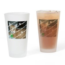 CUSTOMIZE With Your Pet Photo Drinking Glass