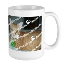 CUSTOMIZE With Your Pet Photo Mugs