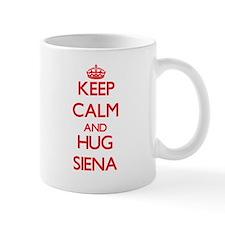Keep Calm and Hug Siena Mugs