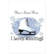 I Love Skating! Invitations