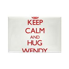 Keep Calm and Hug Wendy Magnets
