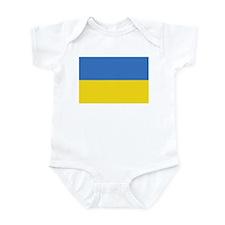 Ukraine Flag Infant Bodysuit