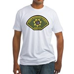 Santa Barbara County Sheriff Fitted T-Shirt