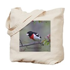 Rosebreasted Grosbeak Tote Bag
