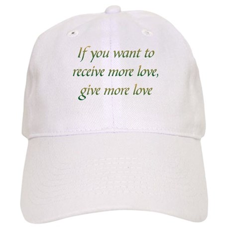 Give More Love Baseball Cap