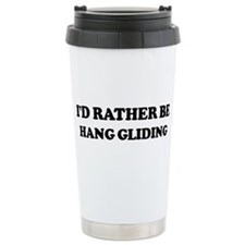 Unique I'd rather Travel Mug