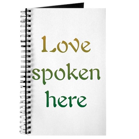 Love Spoken Here Journal