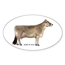 Brown Swiss Dairy Cow Decal