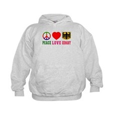 Peace Love Germany Hoodie