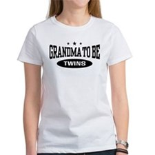 Grandma To Be Twins T-Shirt