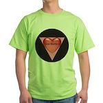 SIZE MATTERS Green T-Shirt