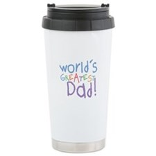 Cute Worlds greatest daddy Travel Mug