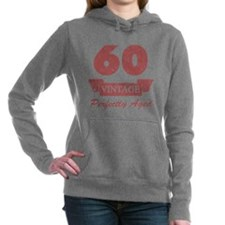 60th Birthday Vintage Hooded Sweatshirt
