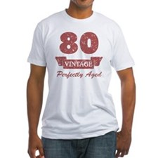80th Birthday Vintage Shirt