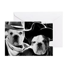English Cowdogs Greeting Card