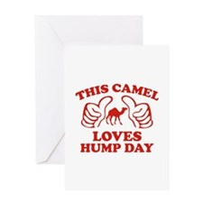 This Camel Loves Hump Day Greeting Card
