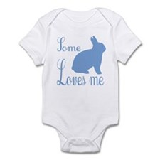 Some bunny loves me Boys Infant Bodysuit