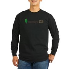 mongo-db-huge-logo Long Sleeve T-Shirt