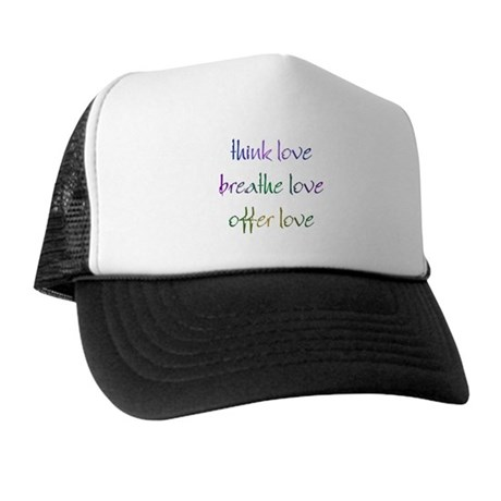 Think Love Trucker Hat