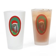 Reggae Santa Drinking Glass
