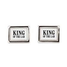 King of the Lab Cufflinks