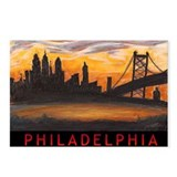 Philadelphia Sunset Postcards (Package of 8)