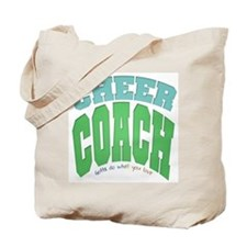 cheer coach Tote Bag