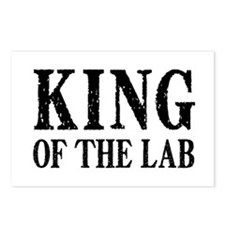 King of the Lab Postcards (Package of 8)