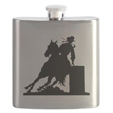 Barrel Racing Flask