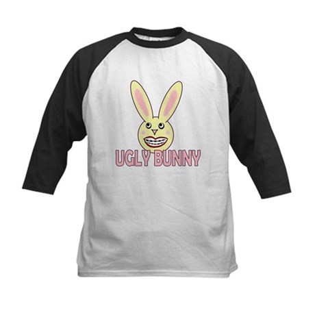 Ugly Bunny Kids Baseball Jersey