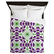 Eclectic Flower 378B Queen Duvet